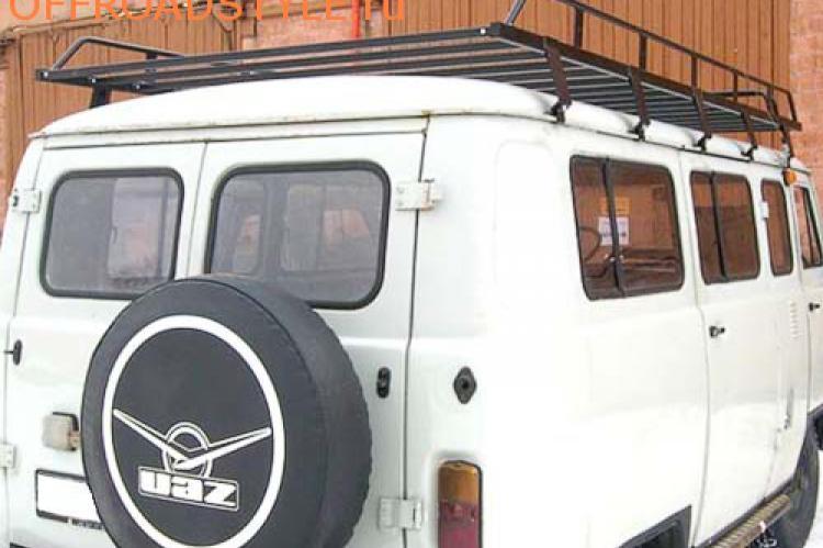 Багажник экспедиционный для УАЗ 3741, 3909, 39625, 2206, 3962 пенза купить питер