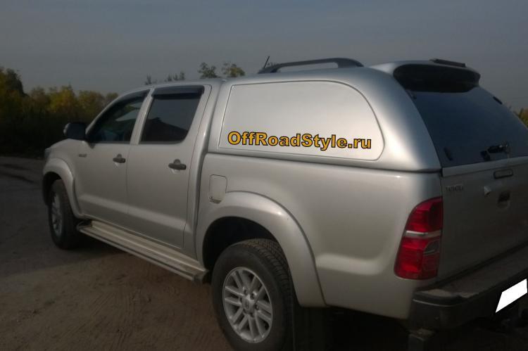Кунг коммерческий Toyota HiLux Lux белгород москва курск воронеж орел калуга уфа