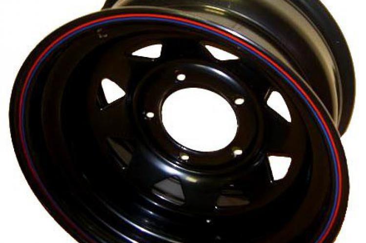 диск стальной 6x139.7 8х15 ET- 25 черный белгород мурманск тюмень ижевск калуга
