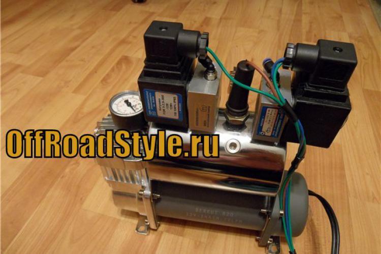 Пневмосистема управления блокировками Беркут R20 для пневмоблокировок нива уаз