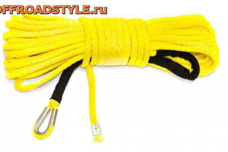 Синтетический трос Stokrat для автомобильных лебедок 26 м 11.0 мм белгород орел