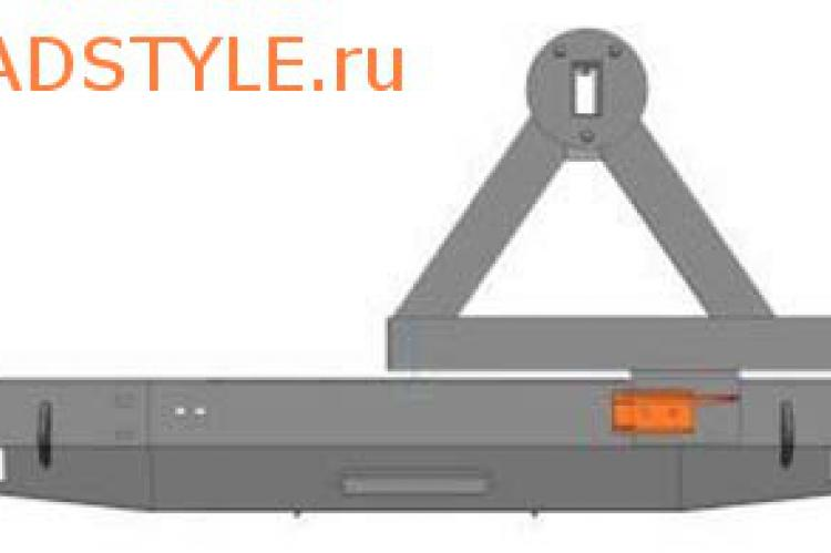Задний силовой бампер для УАЗ Патриот под лебёдку с калиткой белгород москва уфа