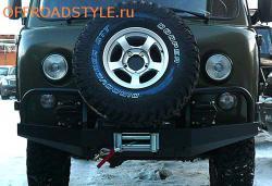 Передний силовой бампер на УАЗ «Буханка» под лебёдку белгород киев харьков пенза