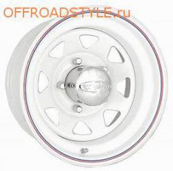 Off Road Wheels 5x139.7 УАЗ 8х15 ET -40 белый доставка в СНГ украину казахстан