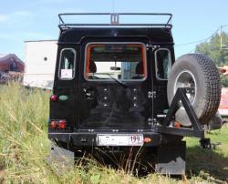 Задний силовой бампер с калиткой Land Rover Defender белгород москва киев тамбов