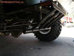 Защита рулевых тяг УАЗ патриот, Хантер длоставка по россии украине иркутск пенза
